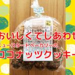 【砂糖・乳製品不使用】ニュースタートベーカリーのココナッツクッキー☆アトピー安心おやつ